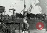 Image of German A-4 missile Peenemunde Germany, 1944, second 5 stock footage video 65675077619