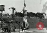 Image of German A-4 missile Peenemunde Germany, 1944, second 7 stock footage video 65675077619