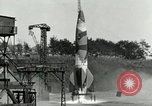 Image of German A-4 missile Peenemunde Germany, 1944, second 8 stock footage video 65675077619