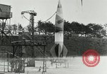 Image of German A-4 missile Peenemunde Germany, 1944, second 4 stock footage video 65675077623