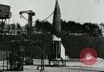 Image of German A-4 missile Peenemunde Germany, 1944, second 2 stock footage video 65675077625