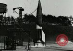 Image of German A-4 missile Peenemunde Germany, 1944, second 3 stock footage video 65675077625