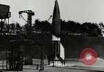 Image of German A-4 missile Peenemunde Germany, 1944, second 4 stock footage video 65675077625