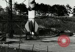 Image of German A-4 missile Peenemunde Germany, 1944, second 2 stock footage video 65675077630