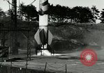 Image of German A-4 missile Peenemunde Germany, 1944, second 5 stock footage video 65675077630