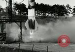Image of German A-4 missile Peenemunde Germany, 1944, second 6 stock footage video 65675077630