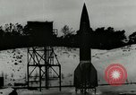 Image of German A-4 missile near accident upon launch Peenemunde Germany, 1944, second 2 stock footage video 65675077633