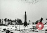 Image of V-2 rocket losing thrust and crashing Peenemunde Germany, 1944, second 1 stock footage video 65675077636