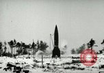 Image of V-2 rocket losing thrust and crashing Peenemunde Germany, 1944, second 5 stock footage video 65675077636