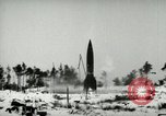 Image of V-2 rocket losing thrust and crashing Peenemunde Germany, 1944, second 6 stock footage video 65675077636