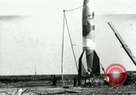 Image of German A-4 missile Peenemunde Germany, 1944, second 1 stock footage video 65675077637