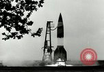 Image of German A-4 missile Peenemunde Germany, 1944, second 4 stock footage video 65675077642
