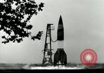 Image of German A-4 missile Peenemunde Germany, 1944, second 5 stock footage video 65675077642