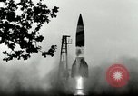 Image of German A-4 missile Peenemunde Germany, 1944, second 6 stock footage video 65675077642