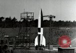 Image of German A-4 missile Peenemunde Germany, 1944, second 3 stock footage video 65675077660