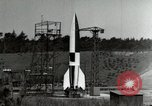 Image of German A-4 missile Peenemunde Germany, 1944, second 6 stock footage video 65675077660