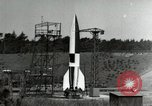 Image of German A-4 missile Peenemunde Germany, 1944, second 7 stock footage video 65675077660