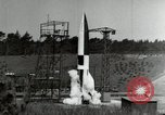 Image of German A-4 missile Peenemunde Germany, 1944, second 10 stock footage video 65675077660