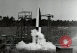 Image of German A-4 missile Peenemunde Germany, 1944, second 11 stock footage video 65675077660