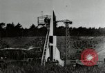 Image of German A-4 missile Peenemunde Germany, 1944, second 1 stock footage video 65675077663