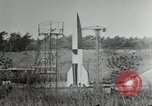 Image of German A-4 missile Peenemunde Germany, 1944, second 7 stock footage video 65675077663