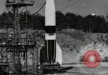 Image of German A-4 missile Peenemunde Germany, 1944, second 1 stock footage video 65675077664