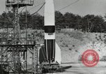 Image of German A-4 missile Peenemunde Germany, 1944, second 2 stock footage video 65675077664