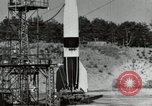 Image of German A-4 missile Peenemunde Germany, 1944, second 3 stock footage video 65675077664