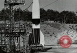 Image of German A-4 missile Peenemunde Germany, 1944, second 4 stock footage video 65675077664