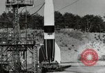 Image of German A-4 missile Peenemunde Germany, 1944, second 5 stock footage video 65675077664