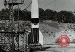 Image of German A-4 missile Peenemunde Germany, 1944, second 6 stock footage video 65675077664