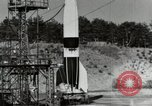 Image of German A-4 missile Peenemunde Germany, 1944, second 7 stock footage video 65675077664