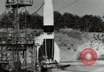Image of German A-4 missile Peenemunde Germany, 1944, second 8 stock footage video 65675077664
