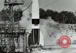 Image of German A-4 missile Peenemunde Germany, 1944, second 10 stock footage video 65675077664