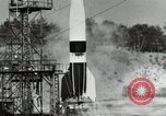 Image of German A-4 missile Peenemunde Germany, 1944, second 12 stock footage video 65675077664