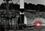 Image of German A-4 missile Peenemunde Germany, 1944, second 2 stock footage video 65675077665
