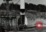 Image of German A-4 missile Peenemunde Germany, 1944, second 3 stock footage video 65675077665