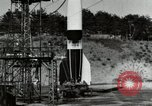 Image of German A-4 missile Peenemunde Germany, 1944, second 4 stock footage video 65675077665