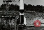 Image of German A-4 missile Peenemunde Germany, 1944, second 5 stock footage video 65675077665