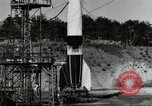 Image of German A-4 missile Peenemunde Germany, 1944, second 7 stock footage video 65675077665
