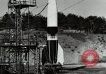 Image of German A-4 missile Peenemunde Germany, 1944, second 9 stock footage video 65675077665