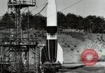 Image of German A-4 missile Peenemunde Germany, 1944, second 10 stock footage video 65675077665