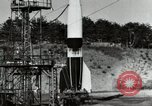 Image of German A-4 missile Peenemunde Germany, 1944, second 11 stock footage video 65675077665