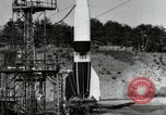 Image of German A-4 missile Peenemunde Germany, 1944, second 12 stock footage video 65675077665