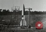 Image of German A-4 missile Peenemunde Germany, 1944, second 3 stock footage video 65675077666