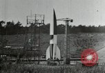 Image of German A-4 missile Peenemunde Germany, 1944, second 4 stock footage video 65675077666
