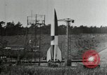 Image of German A-4 missile Peenemunde Germany, 1944, second 5 stock footage video 65675077666