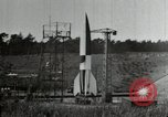 Image of German A-4 missile Peenemunde Germany, 1944, second 6 stock footage video 65675077666