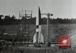 Image of German A-4 missile Peenemunde Germany, 1944, second 7 stock footage video 65675077666