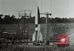 Image of German A-4 missile Peenemunde Germany, 1944, second 10 stock footage video 65675077666